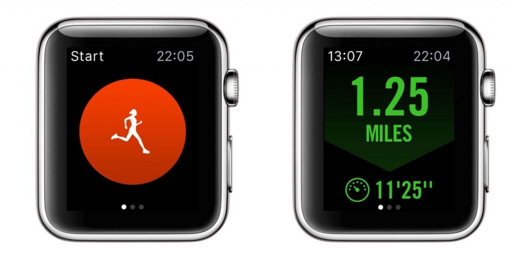 Running app - Apple watch