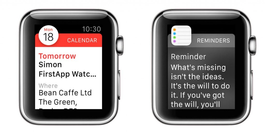 Notifications - Apple Watch