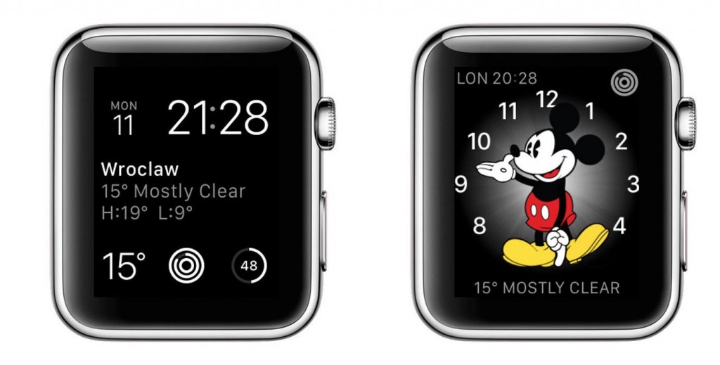 Telling time - Apple Watch