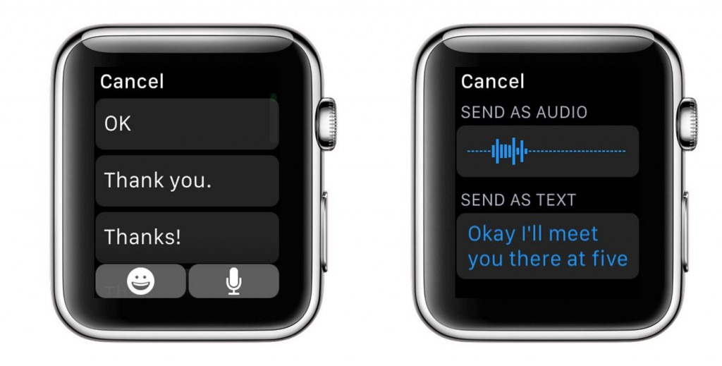 Texting - Apple Watch